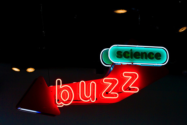 science buzz sign