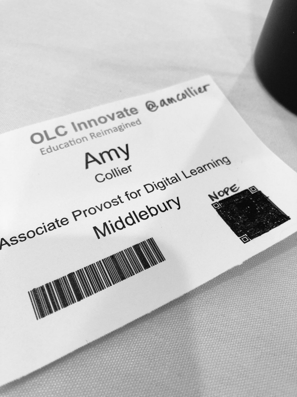 Do not track (an #OLCInnovate plea) – updated 4/30/18